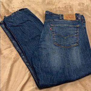 Levi 511 Dark Wash 38/30 Jeans